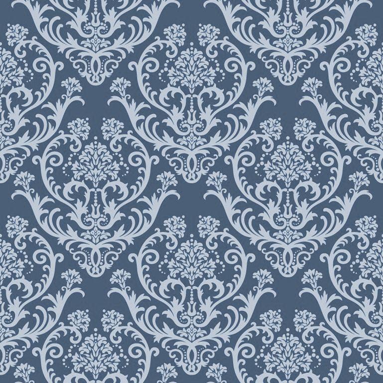 Vintage Wallpaper Seamless Pattern Vector Seamless Floral
