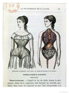 The Harmful Effects of the Corset, Illustration fr