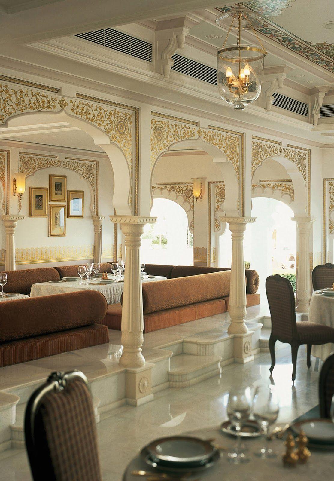 Udaipur, Rajasthan (India) Taj Lake Palace 5* Hotel da