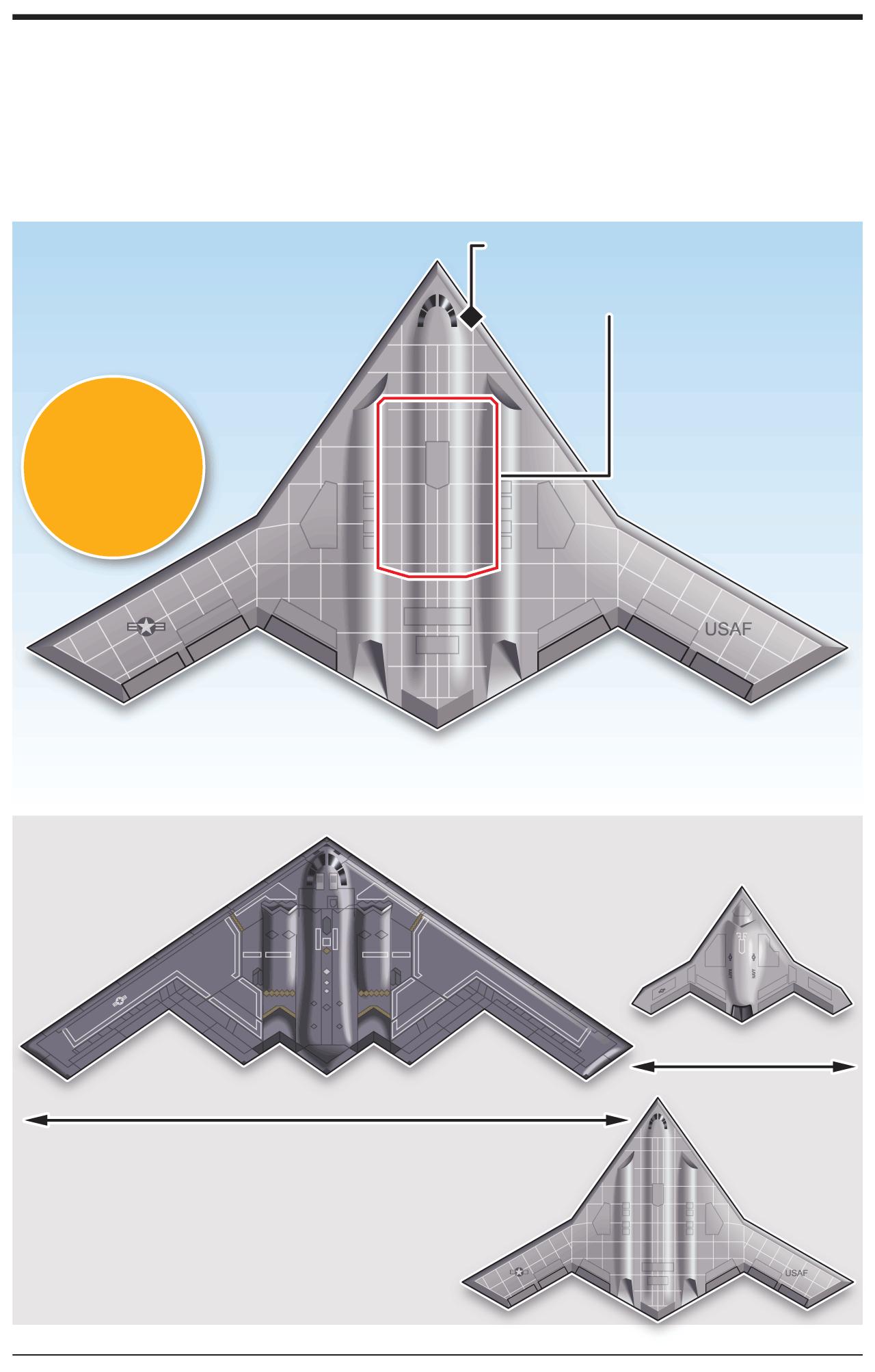 AVIATION: U.S. long-range strike bomber infographic