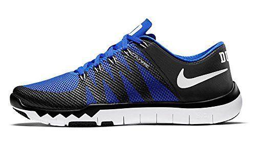 6be1f1377 Men s Nike Nike Free Trainer 5.0 V6 AMP (Duke) Training Shoe  Black White Game Royal (11 Blue).