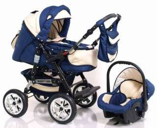 Baby Lux Car Seat Combo Pram / Pushchair / Stroller / Travel ...