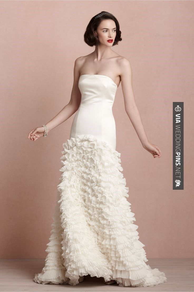 Sweet! - Cascata Gown from BHLDN | CHECK OUT MORE IDEAS AT ...
