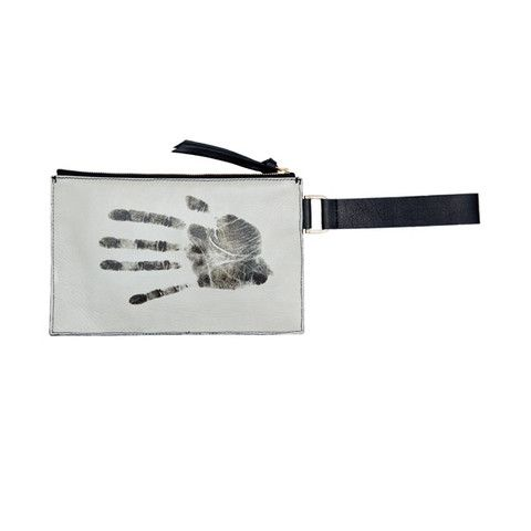 LACMA Store - SOLD OUT: NewbarK Large Leather Pouchette 'Monkey's Hand'