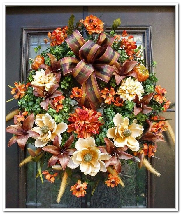 outside fall decorations - Google Search