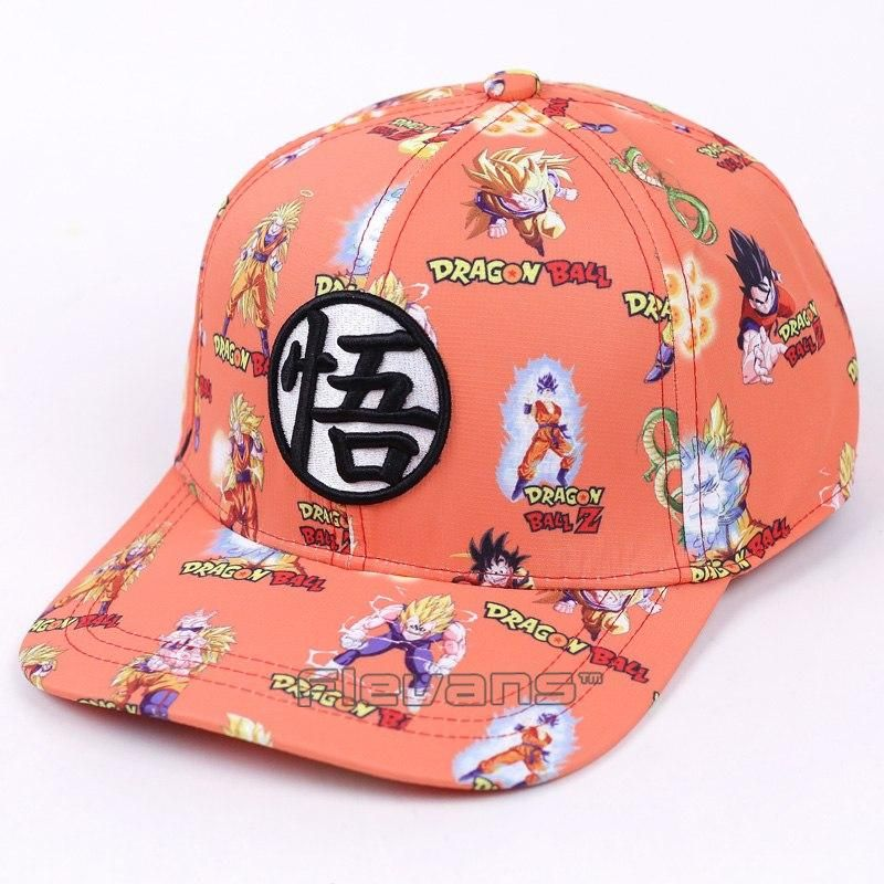 fa7d638ba Dragon Ball Z Fashion Baseball Caps | Dj Clothing and more | Dragon ...