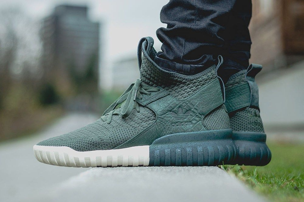 Adidas Tubular Grey And Green