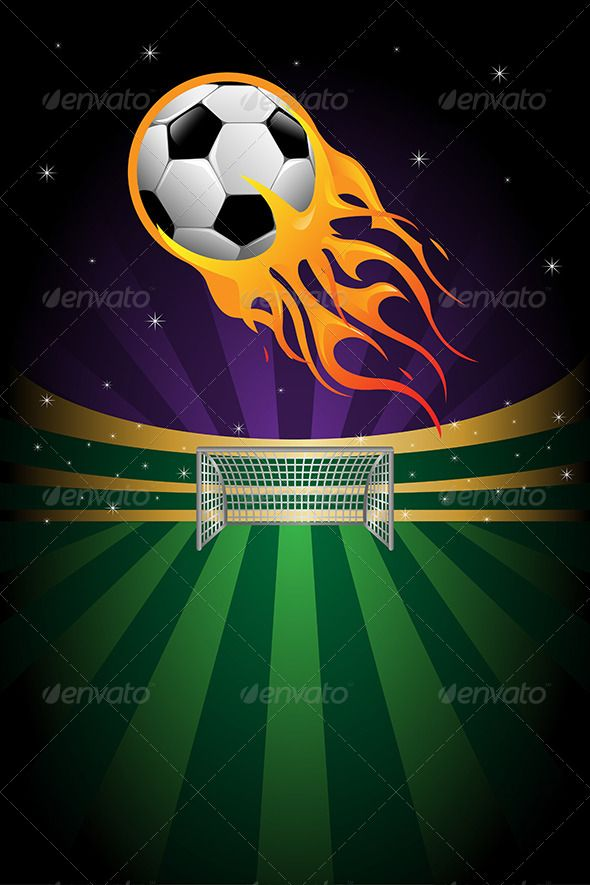 Soccer Background Background Banner Copyspace Design Drawing