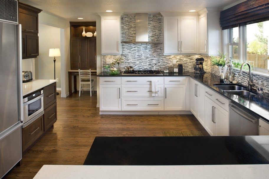 Love this kitchen remodel! My Dad's company did it. Gorgeous! http://www.stritedr.com/kitchen-remodel-5/
