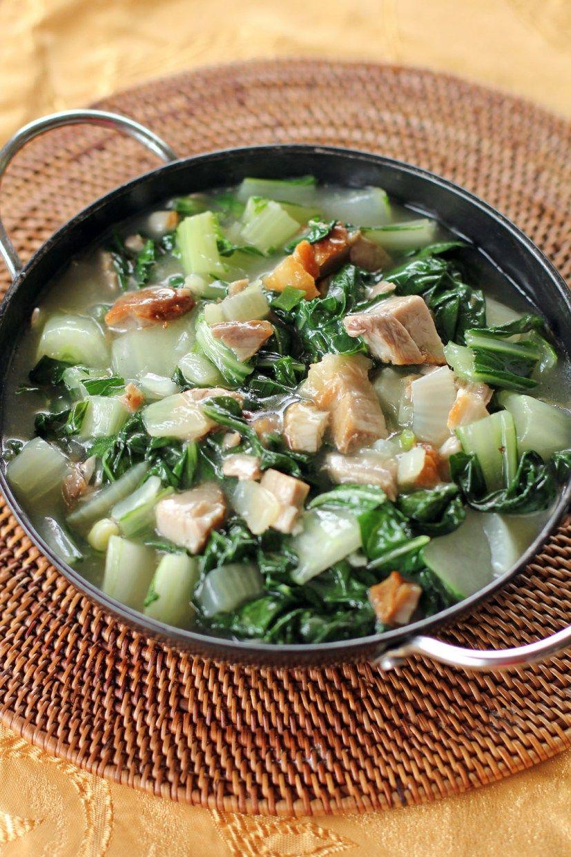 Guisadong Pechay Sauteed Bok Choy Ang Sarap Recipe Filipino Vegetable Recipes Vegetable Recipes Vegetable Dishes