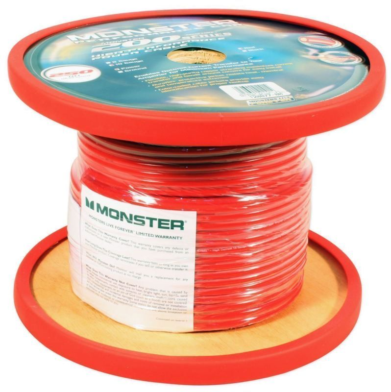 Monster Cable 100 OFC Copper 100Ft 10 AWG Gauge Power
