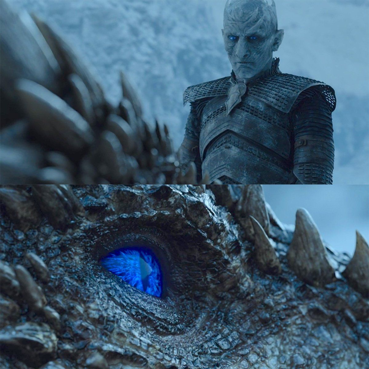 Game Of Thrones Viserion Night King Night King Ice Dragon Game Of Thrones Dragons