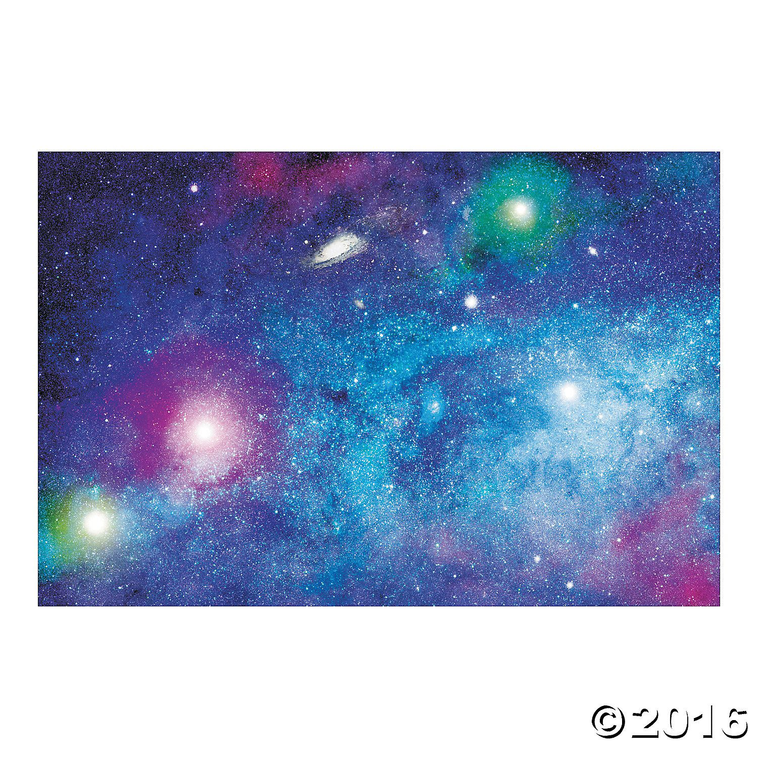 Space Galaxy Backdrop Banner Orientaltrading Com Vbs