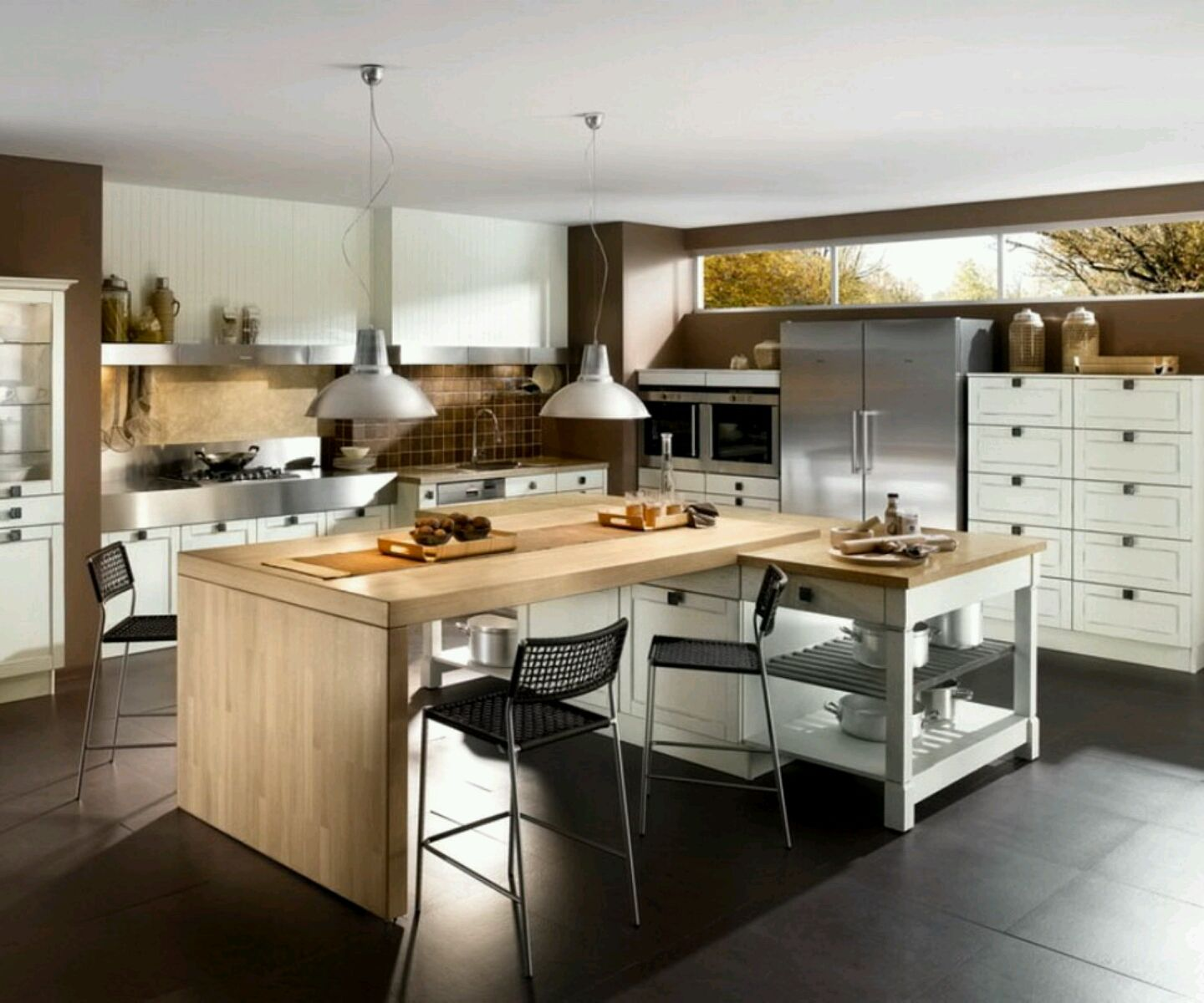 new home designs latest modern kitchen ideas images kitchens ign ...