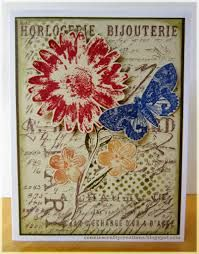 Image result for Cards tim holtz flower garden 2015