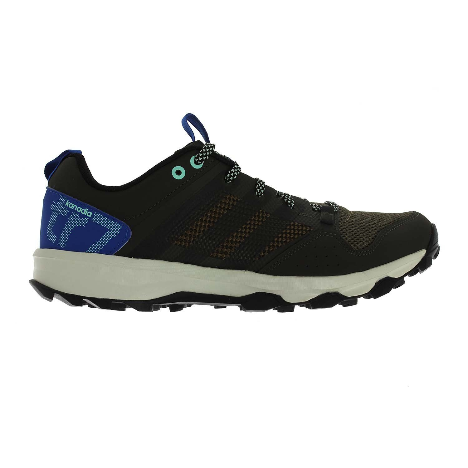 Adidas Kanadia 7 trail shoes with superior traction. It Yyelds agile  Off-Road performance in the most comfortable and lightest Kanadia ever  breathable mesh ...
