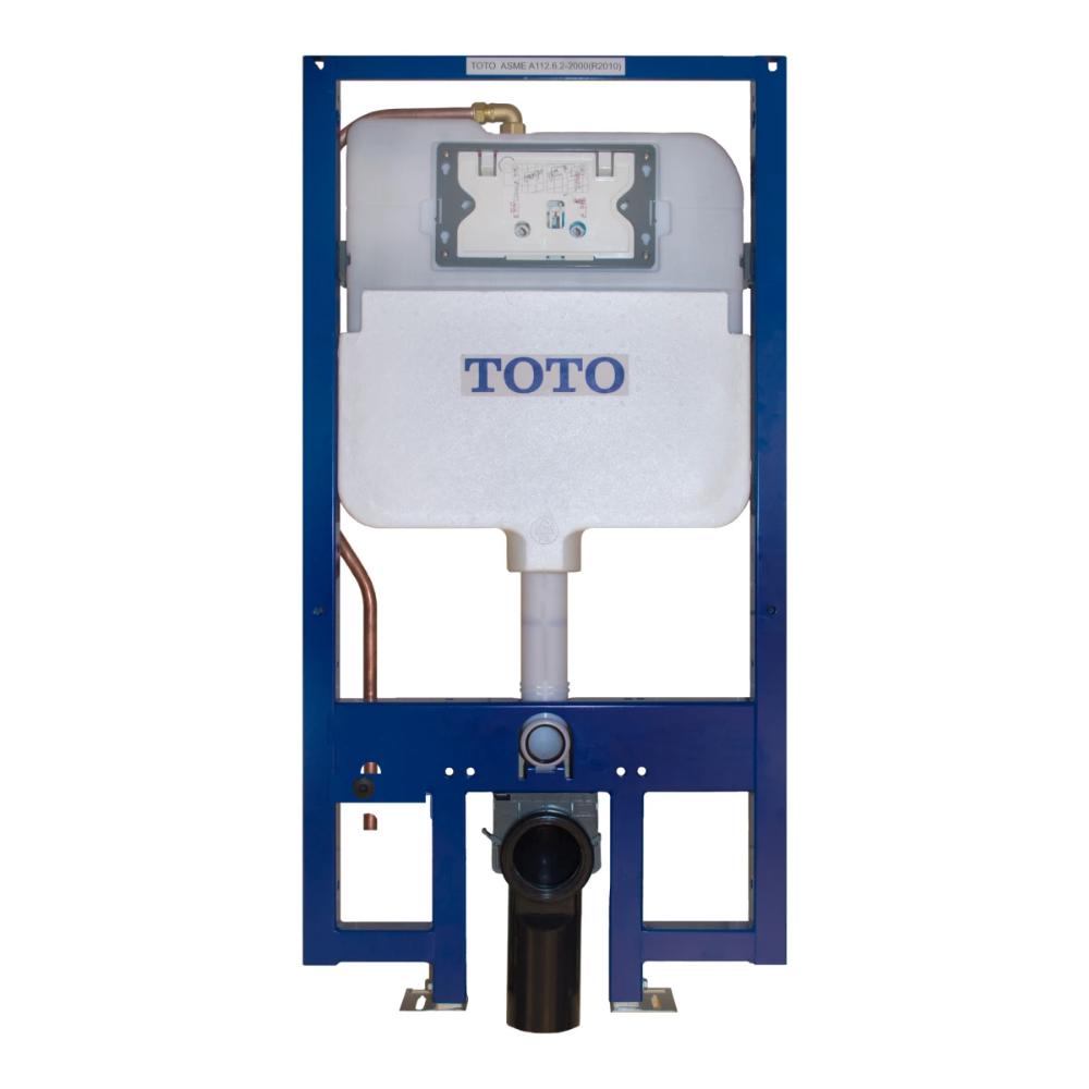 Toto Wt172m Duofit In Wall Tank Unit For Build Com Dual Flush Toilet Toilet Tank Wall Hung Toilet