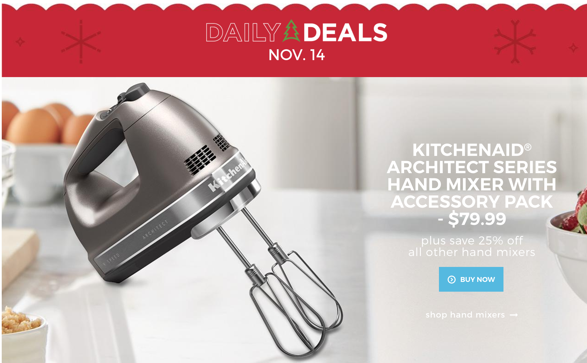 Uncategorized Sears Canada Kitchen Appliances sears canada daily deals today save 50 off kitchenaid hand mixer bakeware