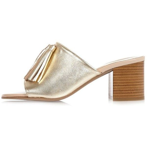 River Island Womens tassel heeled mules puxN962WEI