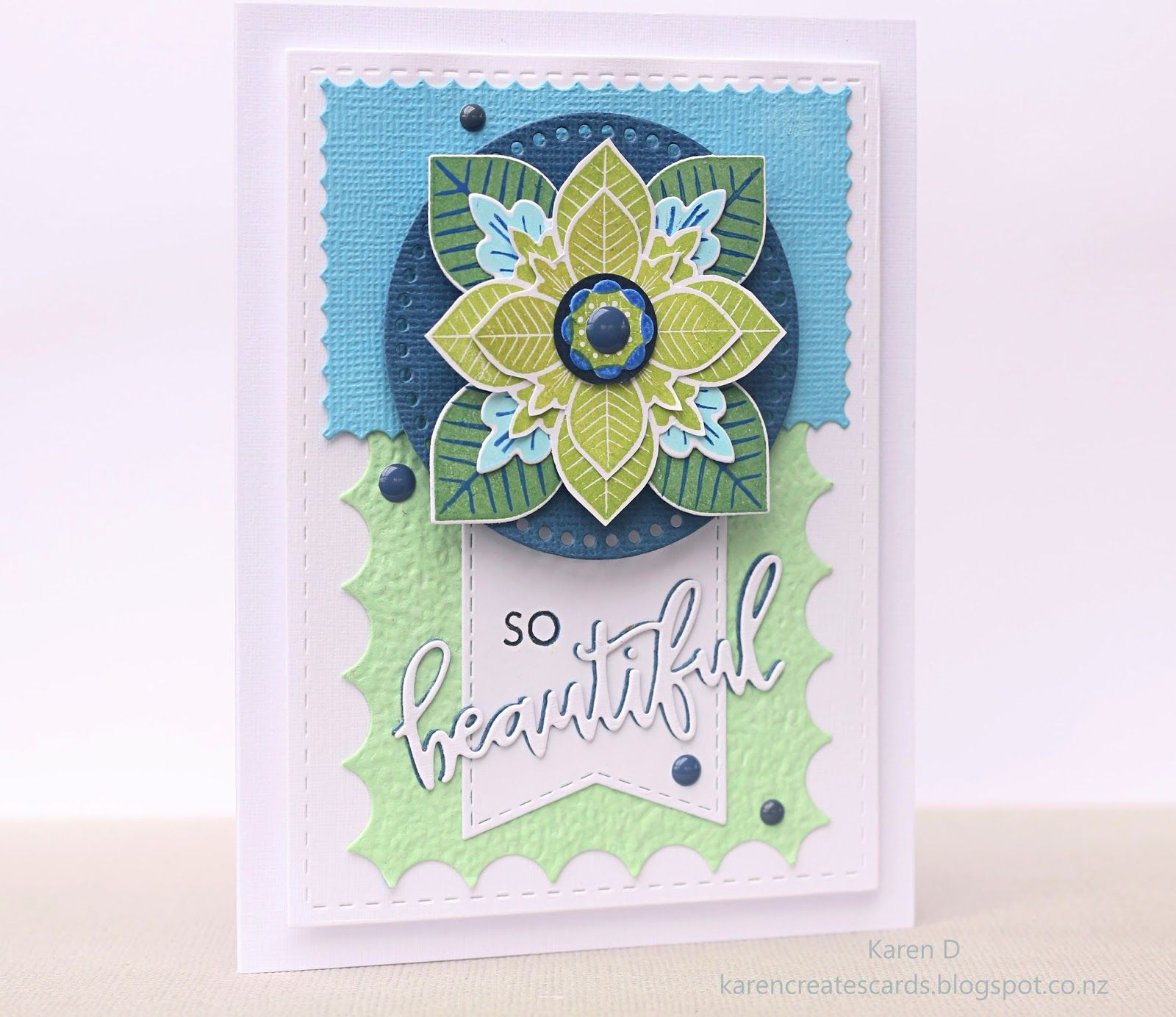 Color throwdown pti lovely layers pinterest homemade greeting