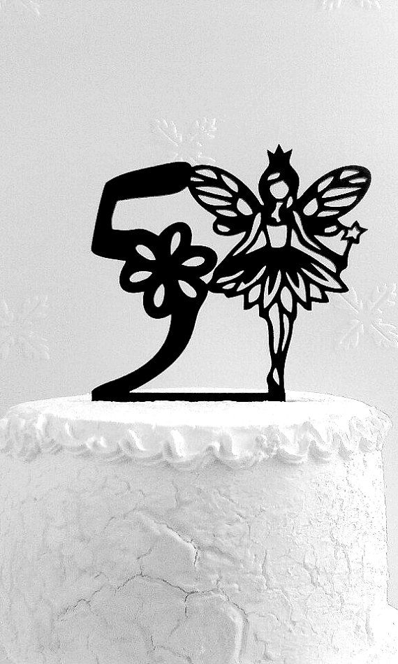 5th Birthday Cake Topper Party Fifth Decoration