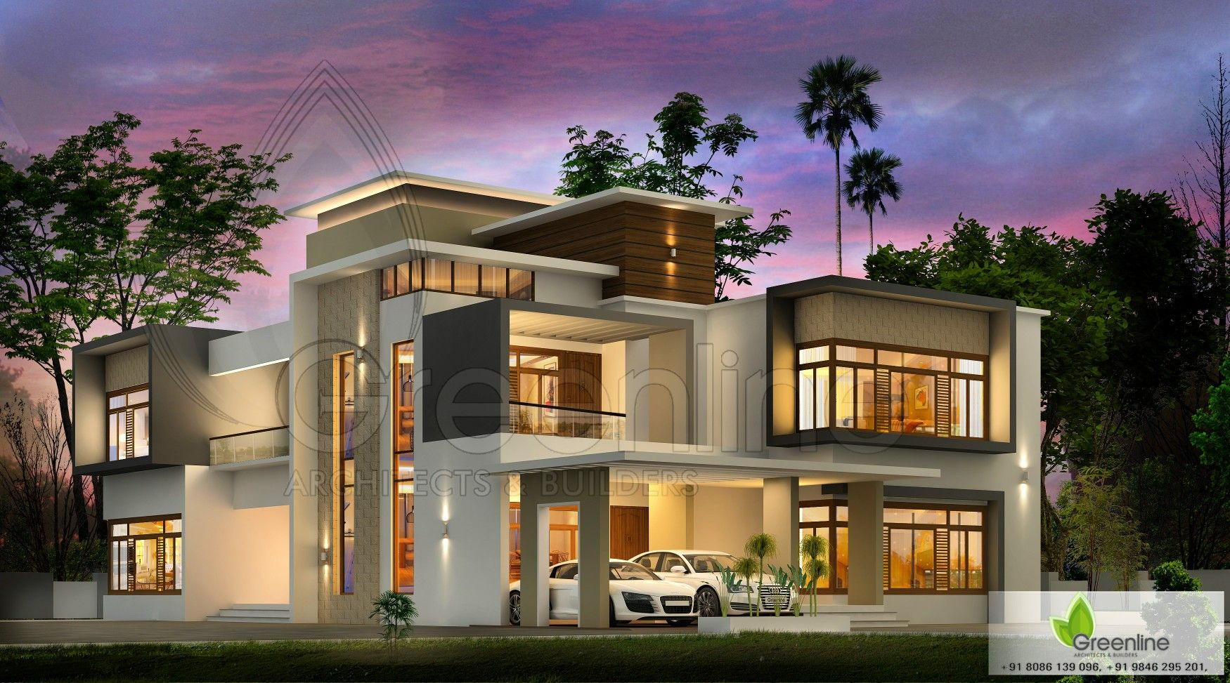 Modern Contemporary House In 2019 Kerala House Design
