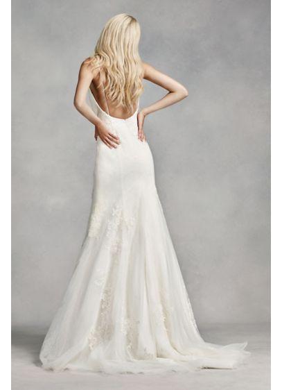 deecbfb688163 White by Vera Wang Low-Back Wedding Dress VW351307 | *Wedding ...