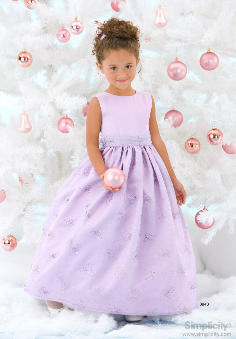 Child special occasion dress sewing pattern 3943 simplicity child special occasion dress sewing pattern 3943 simplicity baby girl dressesflower girl ombrellifo Images