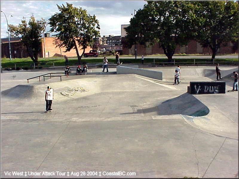 skate park in the middle of downtown - Google Search
