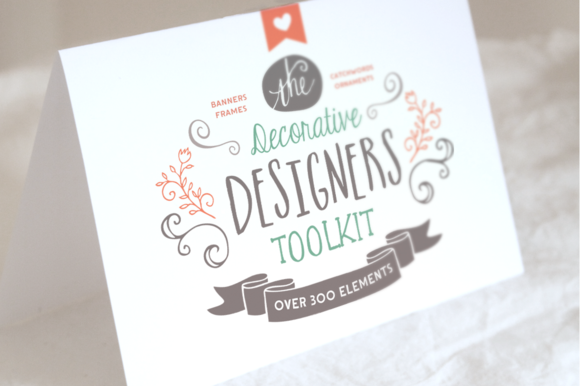 Check out The Decorative Designers Toolkit by Nicky Laatz on Creative Market #typography #fonts