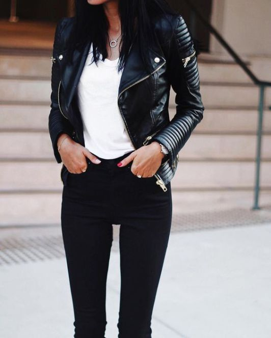 Best Leather Jackets Of The Season And Where To Buy Them - Society19 #leatherjacketoutfit