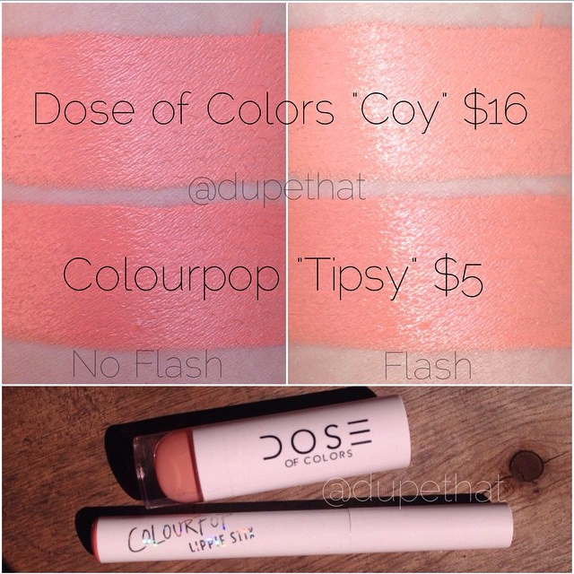 Dupethat : Dose of Colors Coy Dupes