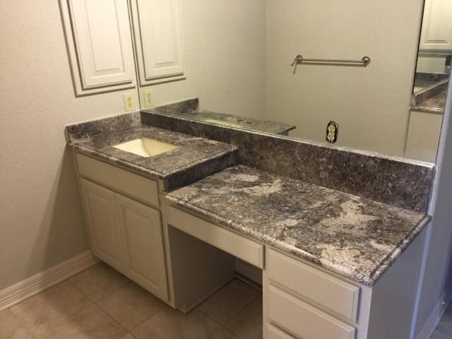 Beautiful Bianco Antico Bathroom Countertop Granite Counterop Simple Bathroom Remodeling San Antonio Decor