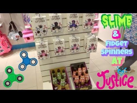 SLiME AND FIDGET SPINNERS AT JUSTICE SHOPPING MALL VLOG