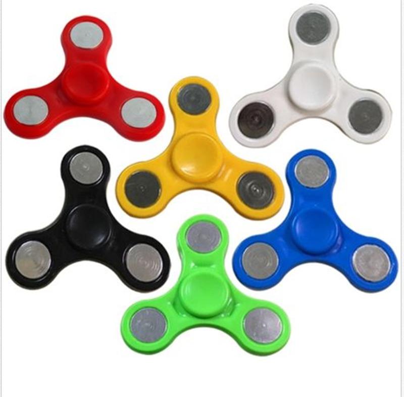 Hand Fidget Finger Spinner Focus EDC Spin Stress Focus Desk Toys Anti Stress