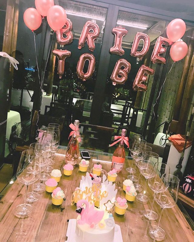 Bridal Shower Balloon Kit | Bride to Be Balloon | Bridal Shower/Engagement/Wedding Party Decoration