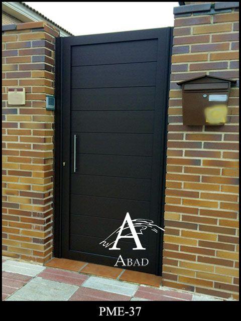 Puertas cancelas de hierro puerta en 2019 puertas - Puertas metalicas para exteriores ...