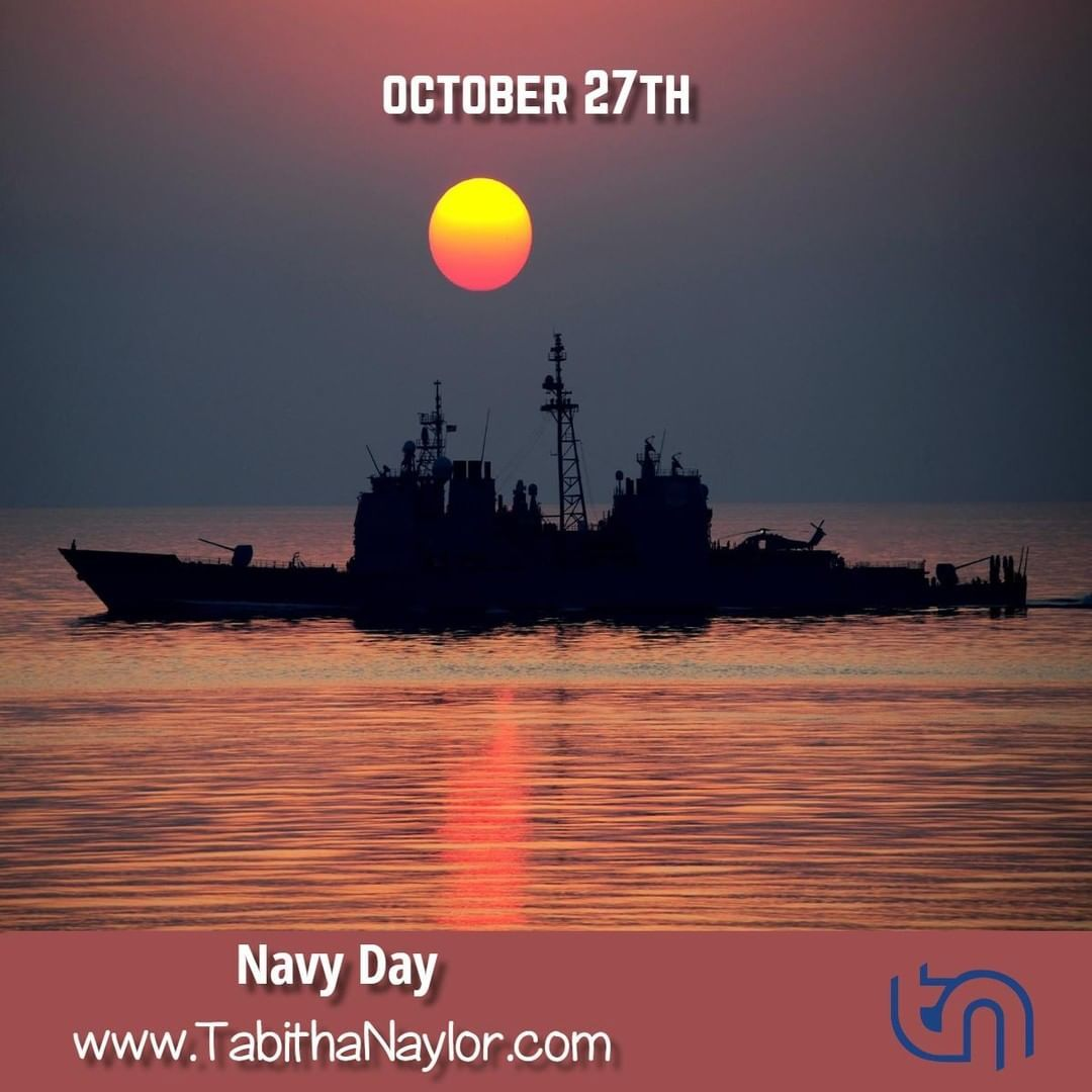 Navy Day Is Observed Annually On October 27 It Is A Day To Salute All Of The Women And Men Who Have Served Both Past Navy Day Infographic Marketing Instagram