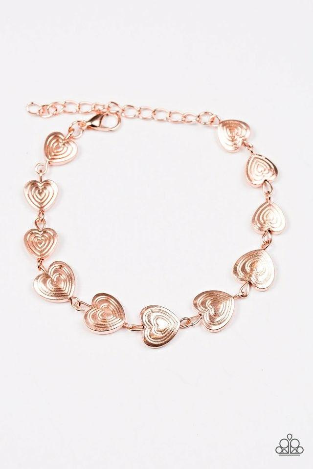 No hearts feelings bracelet -copper #paparazzi | Paparazzi ...