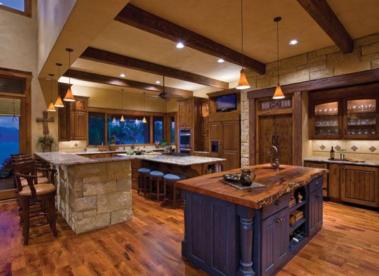 appealing country home interior design | Hill Country Kitchen -- Texas Home and Living magzaine ...
