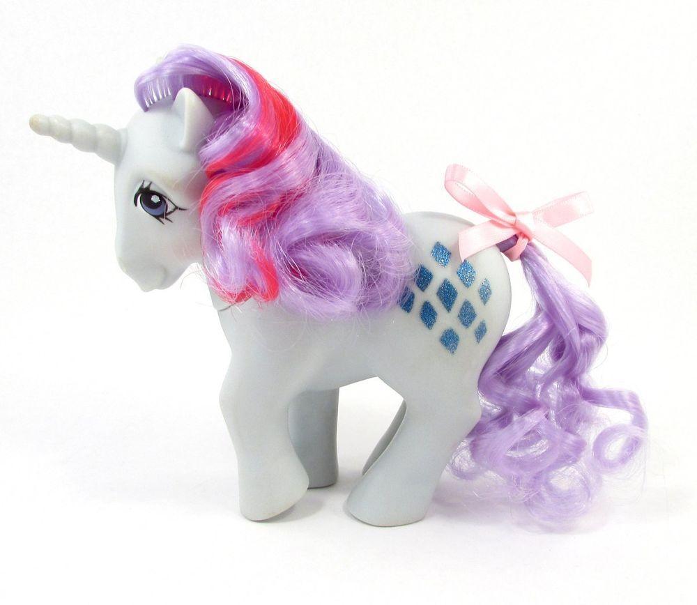 Vintage G1 Unicorn My Little Pony Sparkler Lovely Vintage My Little Pony My Little Pony Pony