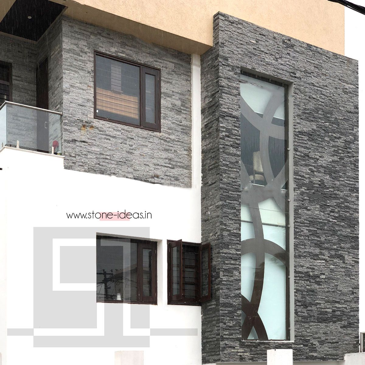Modern Exteriorwall Designs: House Front Exterior Featuring Our Stunning Grey