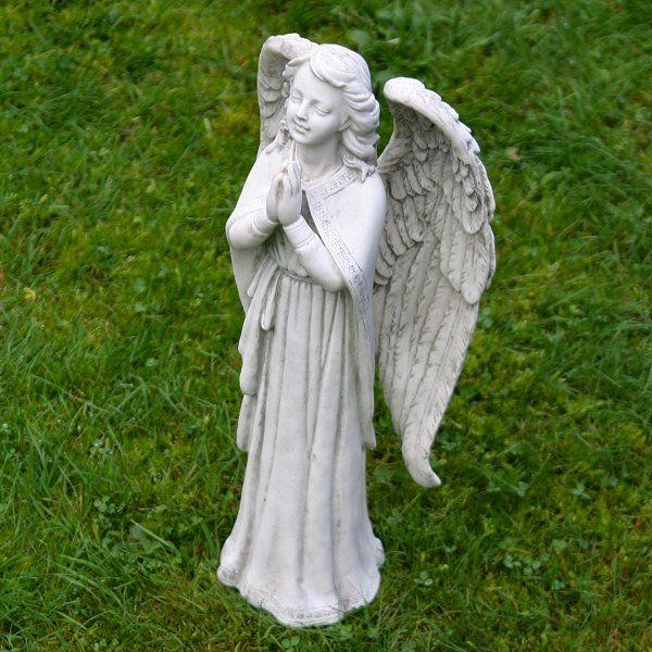 garden statues | Beautiful Praying Angel Garden Ornament - Angel Statues
