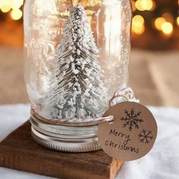 Fabriquer Une Boule A Neige Christmas Pinterest Noel Diy Noel