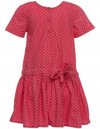 Wheat kirsebær rød prikket kjole