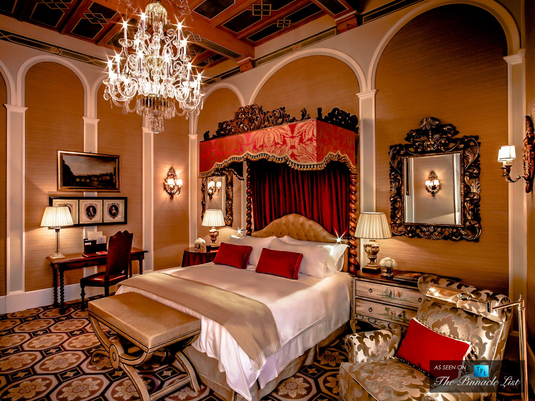 st regis luxury hotel florence italy premium deluxe renaissance style rooms pinterest. Black Bedroom Furniture Sets. Home Design Ideas
