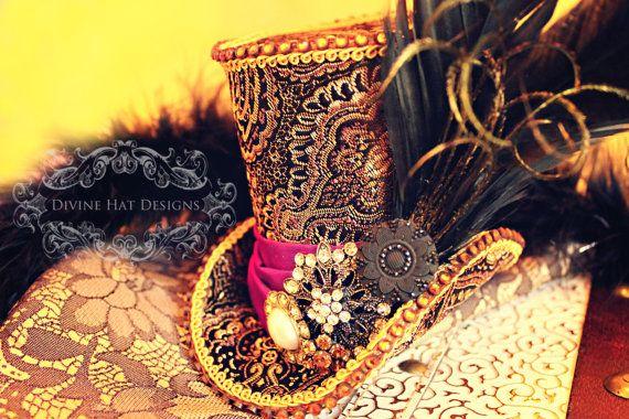 BESTSELLER -- Mad Hatter Hat Replica -- Alice in Wonderland -- Wedding, Tea Party