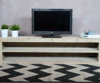 Primo Tv Meubel.Steigerhouten Tv Meubel Genova Tv Unit Wood Media Console