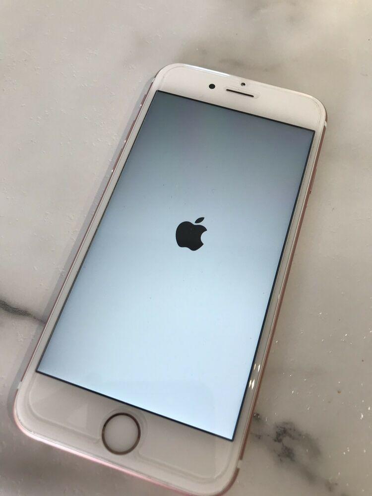 Apple Iphone 6s Plus 64gb Rose Gold Sprint A1687 Cdma Gsm