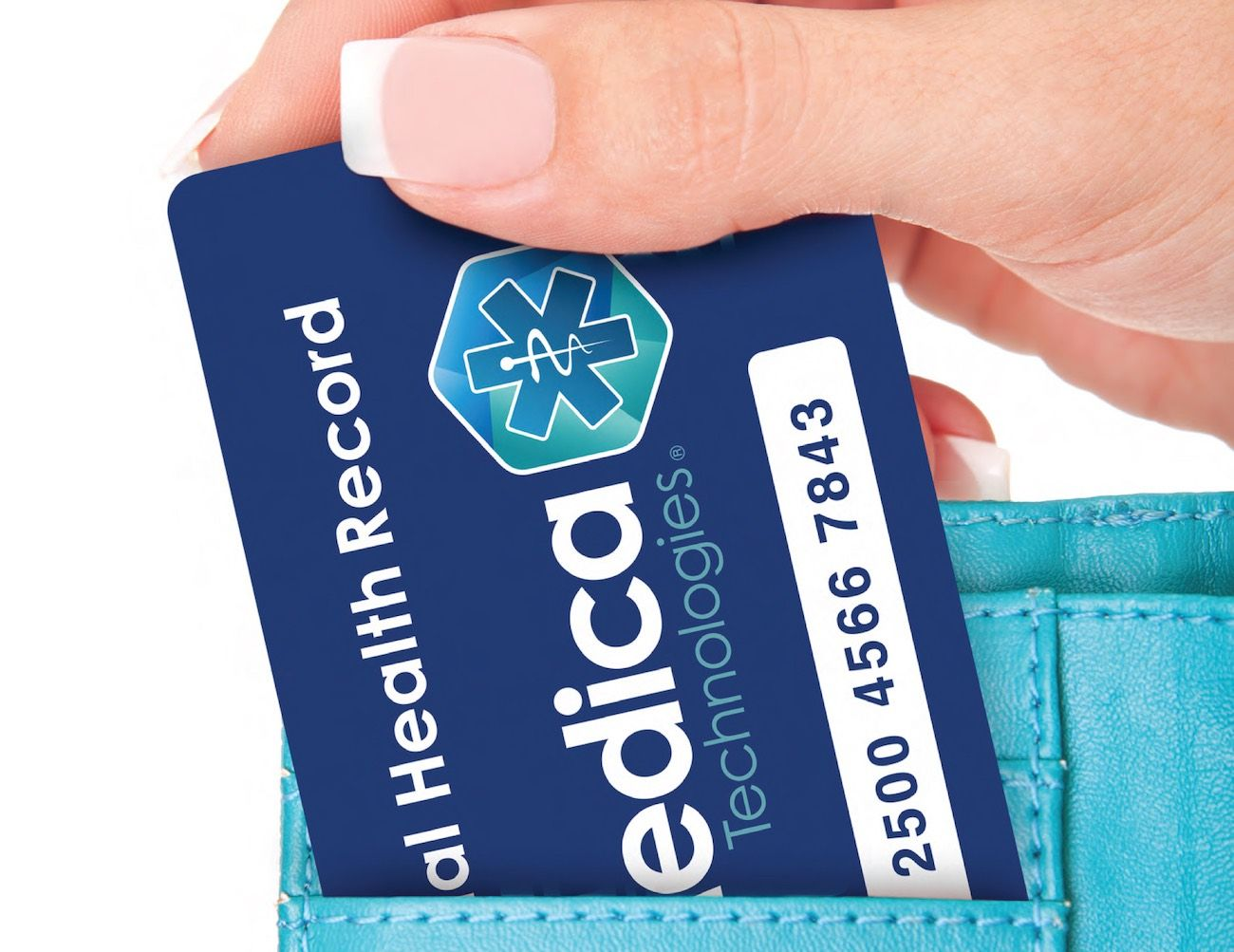 Keeping #health information in one small compact card you can carry on the go is actually a very good idea!